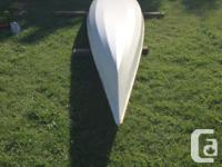 I salvaged an old kayak that was given too me, and now