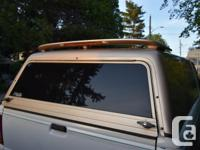 Awesome fibreglass canopy for small truck bed. $200