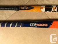 """2 field hockey sticks: Grays GX4000 36"""" $50 Very good"""