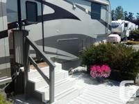 Newmar Mountain Aire fifth wheel trailer, 38 feet; four
