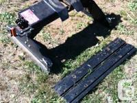 """Dsp model """"sfw el"""" Fifth wheel hitch 17,000 lb"""
