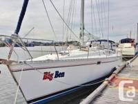 Functions:. This 1991 Beneteau Oceanis 500 is a superb