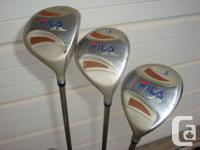 FILA Le Tour Ladies graphite shafted, right handed golf