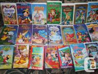 films with VCR VHS gamer perfect condition all for $