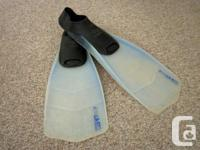 Utilized as float tube fin. Made in Italy. Dimension: