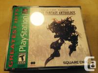 For sale is my Greatest Hits copy of Final Fantasy