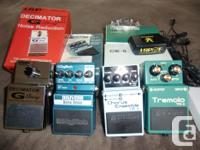 All pedals LIKE NEW. Barely used and in pristine