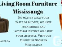 Find Living Room Furniture in Mississauga | Buy new