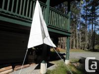 BannerBayMarine FinDelta anchor riding sail. Virtually