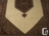 Excellent quality of handwoven Persian carpet, brand