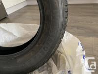 4 Firestone Winterforce 2 Tires. Bought in in November,