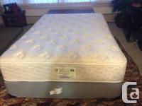 great condition very comfy firm simmons double size