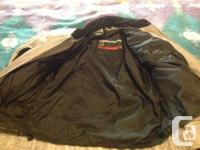 First Gear motorcycle jacket. Men's size large. In very