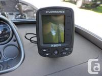 Fish-Finder Lowrance X50DS Frequence 83/200khz