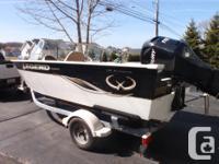 "2007 Aluminum Legend Boat 17'6"" Mercury 115 EFI"