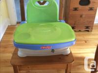 Fisher Price booster high chairs, attach to the dining