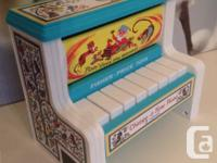 Selling a Fisher Price Classics 'Change-a-tune' Piano