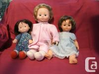 (3) Fisher Price Dolls needs a momy to play with and