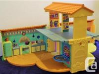 This DORA'S TALKING HOUSE, made in 2003 by Fisher