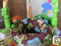 delux, - Musical exersaucer, batteries working and the