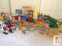 I have some Fisher Price GeoTrax train sets for sale.