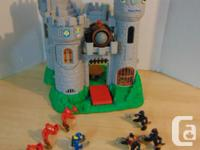 Fisher Price Great Adventures Castle Knights and Cannon