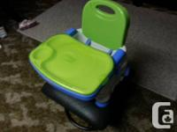 I have a Fisher Price Healthy Care� Deluxe Booster