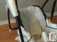 Fisher-Price High Chair / Swing. Adjustable to two