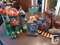 Fisher-Price Imaginext Dragon Castle $30 * Cool sound