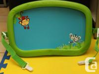 Fisher Rate Jungle Soft Trip Tray. It suits most child