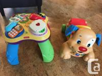 $40 for matching set. Excellent condition. Learning,