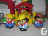 Hello, we are selling a Fisher Price Little People farm