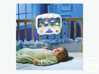 Soothe baby to sleep with the gentle sights and sounds