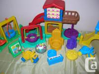 For sale a huge Lot of Rescue Heroes Fisher Price a mix