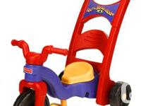 Fisher Price Rock n Ride tricycle. Three stages for
