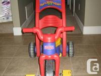 excellent condition fisher price tricycle for sale. 1