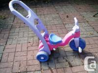 Fisher-Price Rock, Roll 'n Ride Trike in good condition