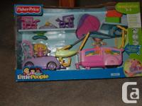 fisher price sarah lynn & her camping adventure set no