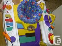 Fisher Price step & play Piano exersaucer; $50; perfect