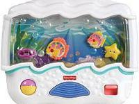 Fisher-Price Ocean Wonders Aquarium Baby crib Toy  With