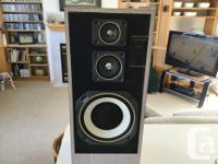 """3-WAY SYSTEM---10"""" Woofer With a 4"""" Mid-Range And a 3"""""""