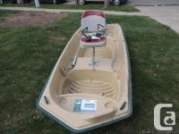 I have a 12 foot Sun Dolphin boat for sale. It comes