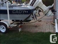 Cador-Mat fishing boat - 18 ft Johnson 140HP outboard &