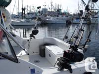 30 Foot Charter Boat On Vancouver Island, Serving