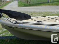 Horizon 130 Angler. Designed for fishing. It is two