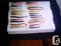 ***   WORM CRAWLERS.  Soft Bait Fish Lures.  Severeal