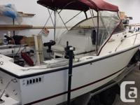 1997 22 foot Shamrock was re-powered in 2012 with a