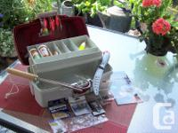 Tackle box with all contents, including, Filleting