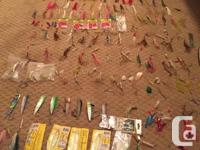 260 loose or packaged hootchies. 31 pre-rigged