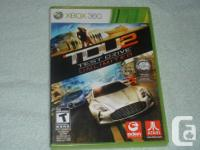 XBOX 360 GAMES,FLATOUT ULTIMATE CARNAGE,TDU2 TEST DRIVE